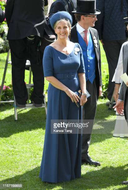 Sophie, Countess of Wessex attends day three, Ladies Day, of Royal Ascot at Ascot Racecourse on June 20, 2019 in Ascot, England.