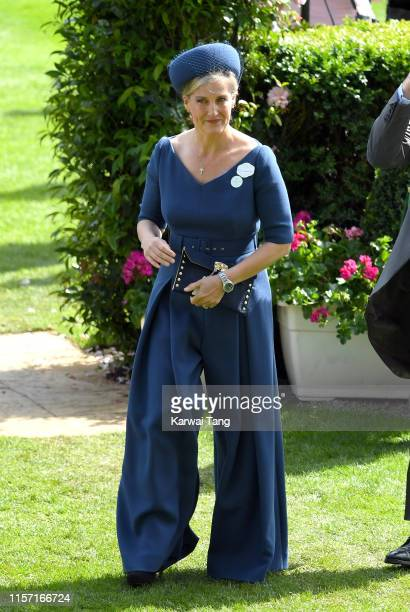 Sophie Countess of Wessex attends day three Ladies Day of Royal Ascot at Ascot Racecourse on June 20 2019 in Ascot England
