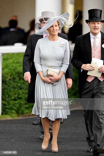 Sophie, Countess of Wessex attends day two of Royal Ascot at Ascot Racecourse on June 20, 2012 in Ascot, England.