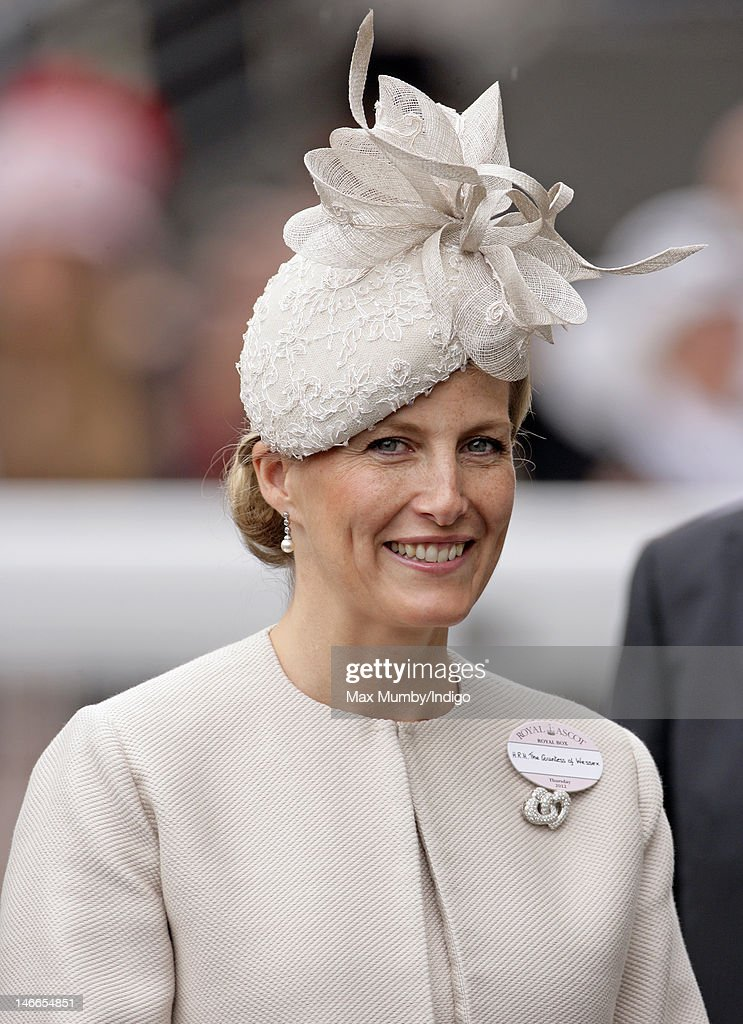 Sophie, Countess of Wessex attends Ladies Day during Royal Ascot at Ascot Racecourse on June 21, 2012 in Ascot, England.