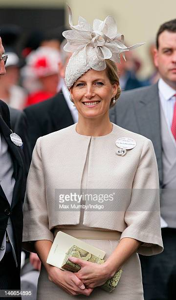 Sophie Countess of Wessex attends Ladies Day during Royal Ascot at Ascot Racecourse on June 21 2012 in Ascot England