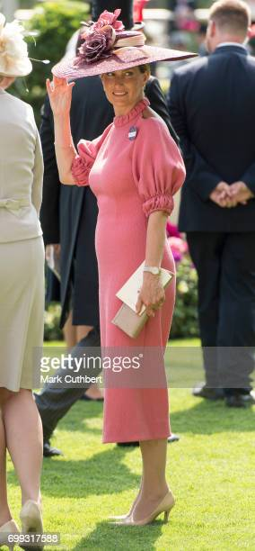 Sophie Countess of Wessex attends Royal Ascot 2017 at Ascot Racecourse on June 21 2017 in Ascot England