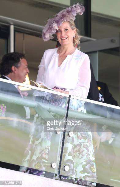 Sophie, Countess of Wessex attends Royal Ascot 2021 at Ascot Racecourse on June 16, 2021 in Ascot, England.