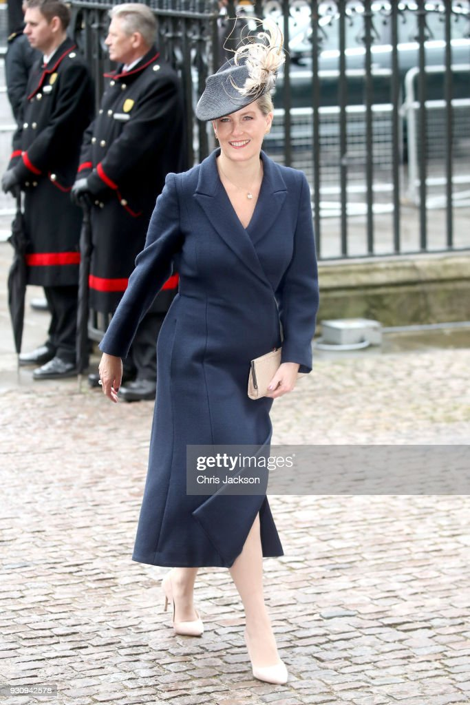Sophie, Countess of Wessex attends the 2018 Commonwealth Day service at Westminster Abbey on March 12, 2018 in London, England.