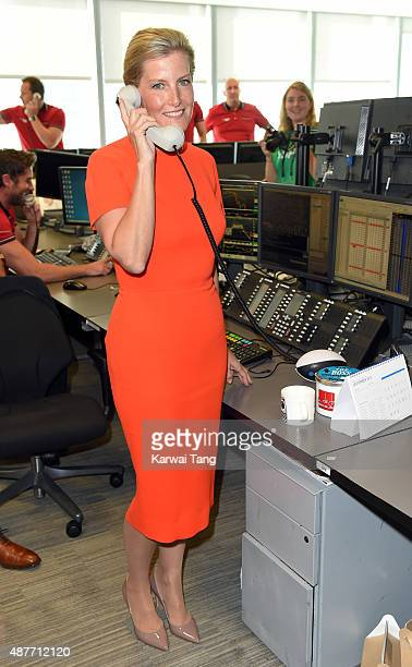 Sophie Countess of Wessex attends the annual BGC Global Charity Day at BGC Partners on September 11 2015 in London England