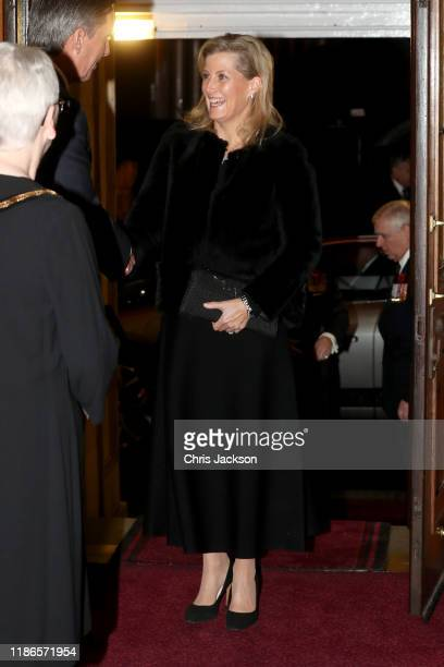 Sophie Countess of Wessex attends the annual Royal British Legion Festival of Remembrance at the Royal Albert Hall on November 09 2019 in London...