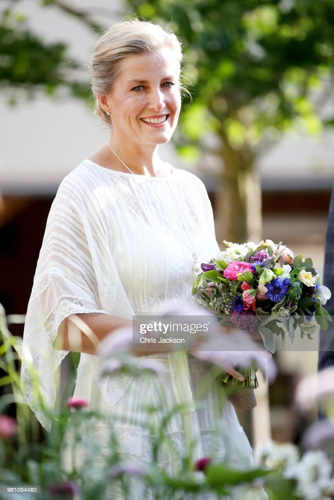 Sophie, Countess of Wessex attends the Chelsea Flower Show 2018 on May 21, 2018 in London, England.