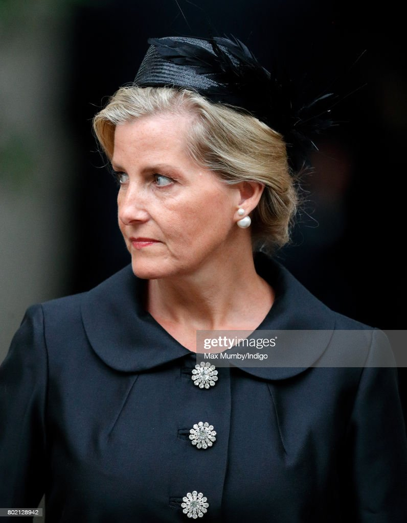 Funeral Of The Countess Mountbatten Of Burma : News Photo