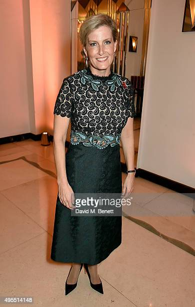 Sophie Countess of Wessex attends the Harper's Bazaar Women of the Year Awards 2015 at Claridges Hotel on November 3 2015 in London England