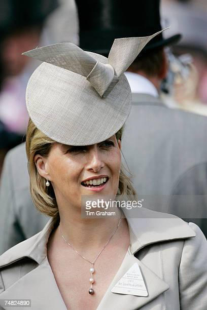 Sophie Countess of Wessex attends the second day of Royal Ascot Races on June 20 2007 in Ascot England