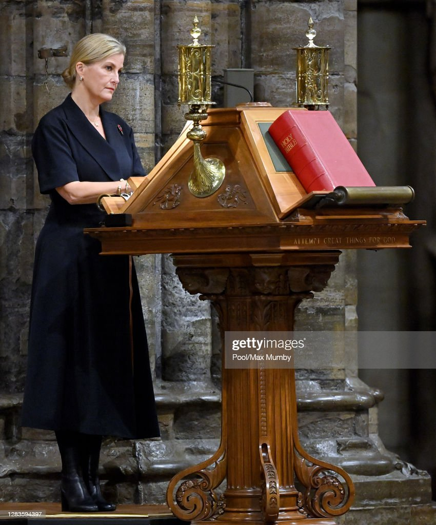 The Countess Of Wessex's Attends The All Souls' Day Service At Westminster Abbey : News Photo