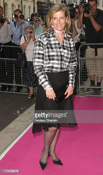 Sophie Countess of Wessex during In The Pink Charity Evening in Aid of Breast Cancer at Cadogan Hall in London Great Britain