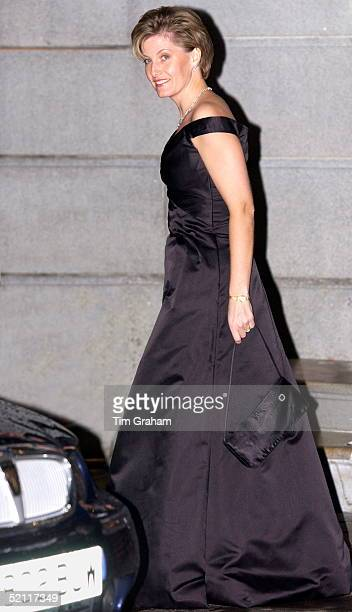 Sophie Countess Of Wessex Leaving The Ritz After A Party To Celebrate The Golden Jubilee