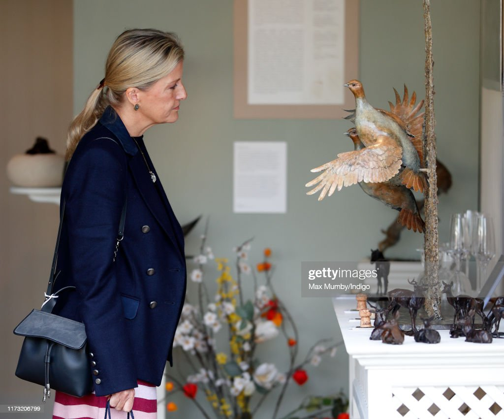 The Countess Of Wessex Attends The Burghley Horse Trials : News Photo