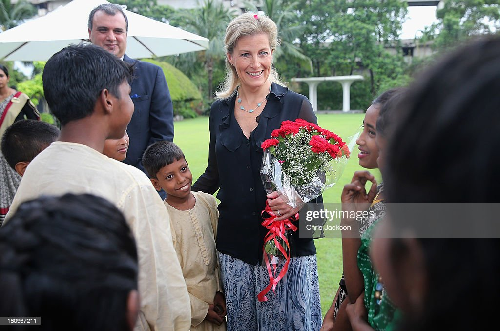 Sophie, Countess Of Wessex Visits India With ORBIS - Day 1