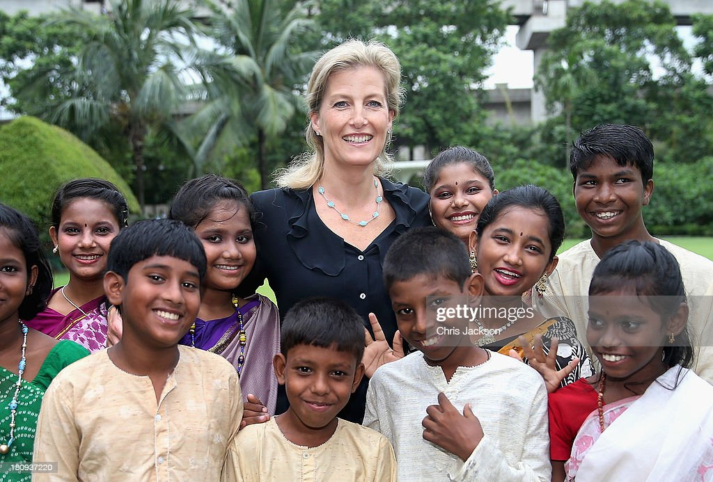Sophie, Countess Of Wessex Visits India With ORBIS - Day 1 : News Photo