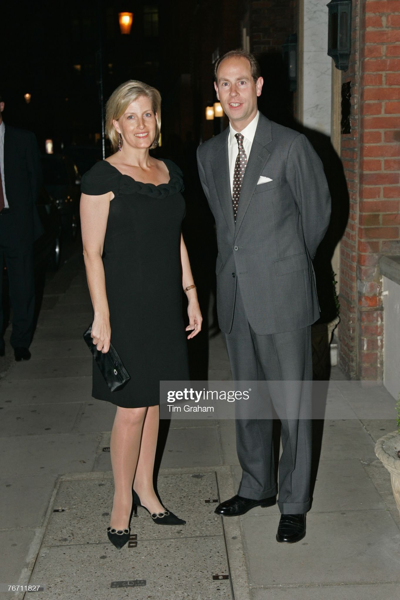 Countess Of Wessex, Prince Edward Attend Dinner for Wessex Youth Trust : News Photo