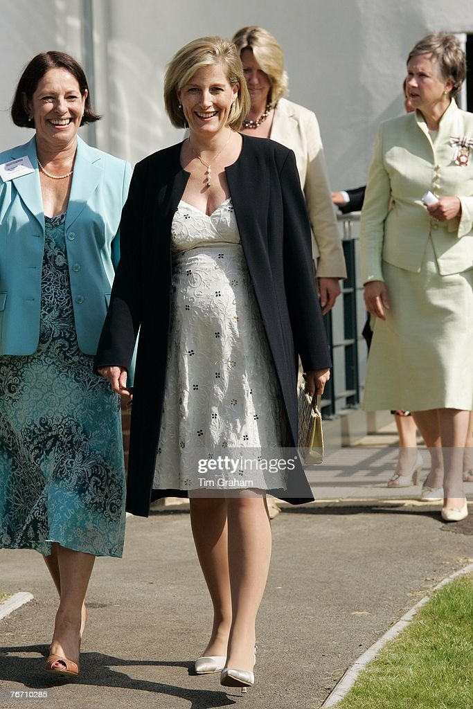 Sophie, Countess Of Wessex Visits Surrey : News Photo