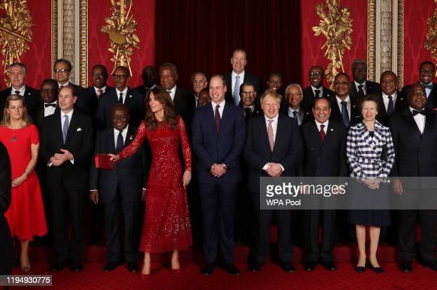 Sophie, Countess of Wessex, Prince Edward, Earl of Wessex, President of Ghana Nana Addo Dankwa Akufo-Addo, Catherine, Duchess of Cambridge, Prince...
