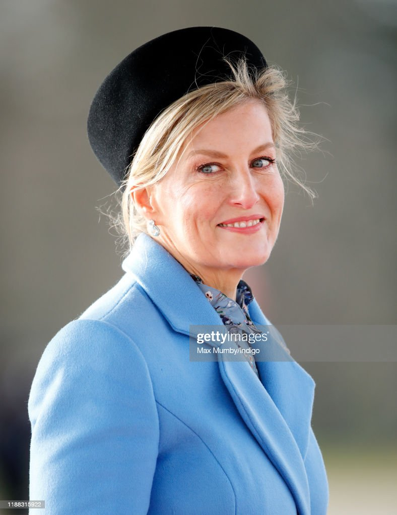 The Countess Of Wessex Attends The Sovereign's Parade : News Photo