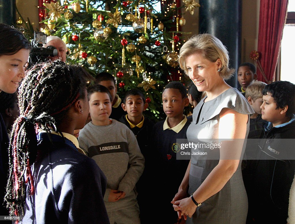 Countess of Wessex Presents Gifts to Disadvantaged Hackney Children
