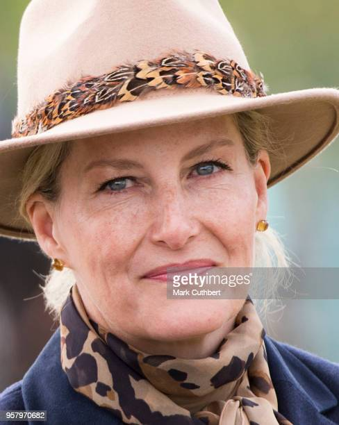 Sophie Countess of Wessex takes part in the Carriage Procession at the Royal Windsor Horse Show at Home Park on May 13 2018 in Windsor England