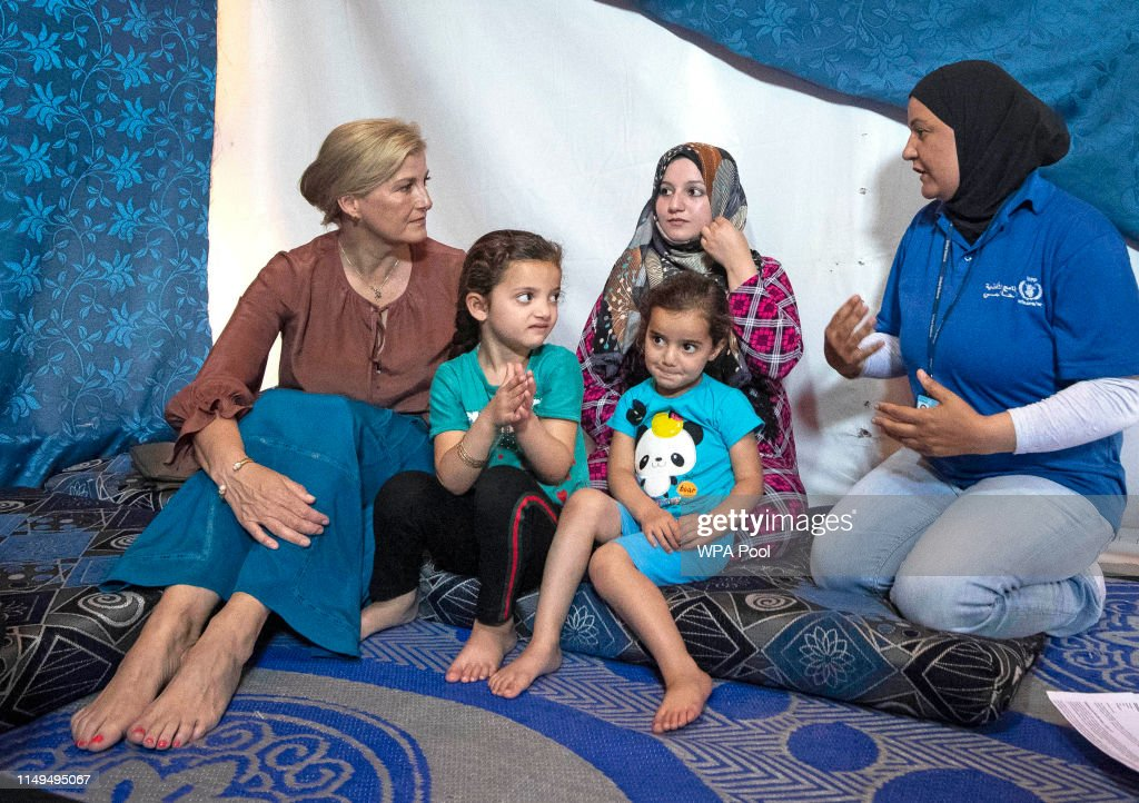 The Countess Of Wessex Visits Lebanon : News Photo