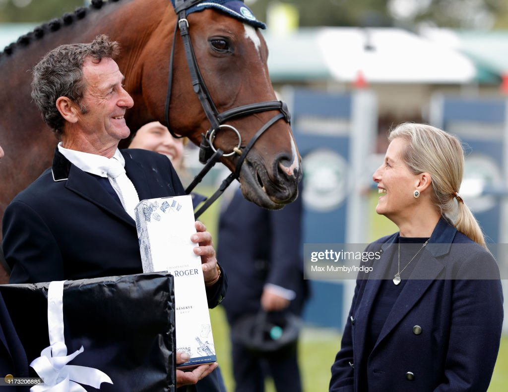 The Countess Of Wessex Attends The Burghley Horse Trials : Foto jornalística