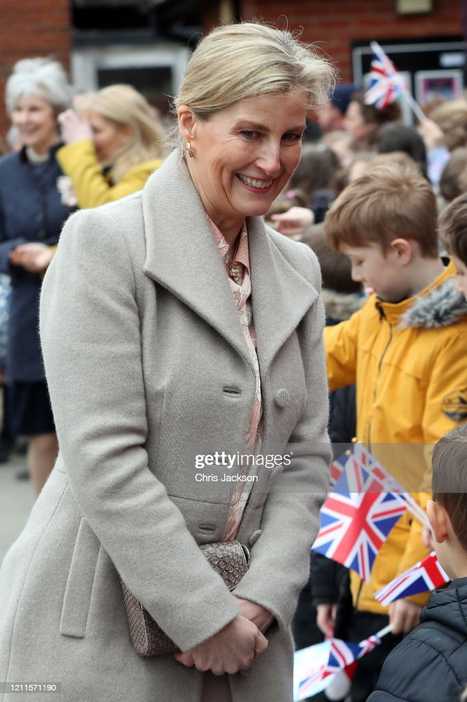 The Earl And Countess Of Wessex Visit Essex : News Photo