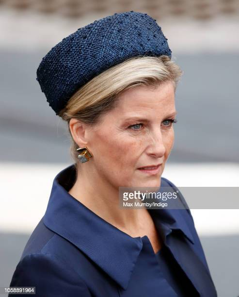 Sophie Countess of Wessex visits HNLMS Zeeland to watch an onthewater capability demonstration by the Royal Marines and the Royal Netherlands Marine...