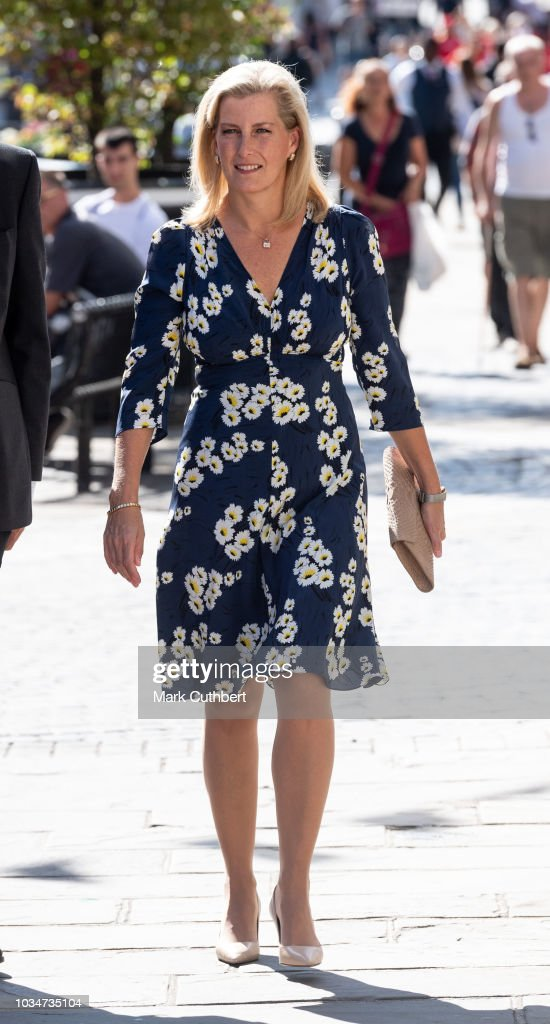 sophie-countess-of-wessex-walks-down-the-high-street-to-visit-daniel-picture-id1034735104