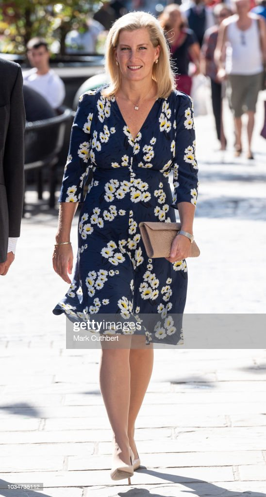 sophie-countess-of-wessex-walks-down-the-high-street-to-visit-daniel-picture-id1034735112