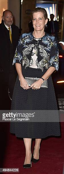 Sophie Countess of Wessexattends the Prince Albert II of Monaco Foundation Dinner In Honour Of Winston Churchill at Sotheby's on October 29 2015 in...