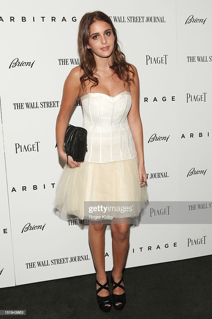 Sophie Curtis attends the 'Arbitrage' New York Premiere at Walter Reade Theater on September 12, 2012 in New York City.