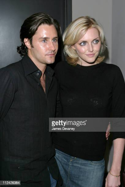 Sophie Dahl and Guest during Dirty Pretty Things Screening After Party at Soho House in New York City New York United States