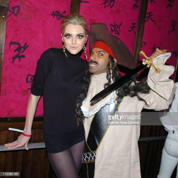 Sophie Dahl and Harry Josh during 2005 Halloween Misfits Party at Hiro in New York City New York United States