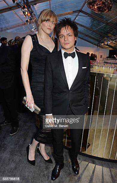 Sophie Dahl and Jamie Cullum attend British Vogue's Centenary gala dinner at Kensington Gardens on May 23 2016 in London England