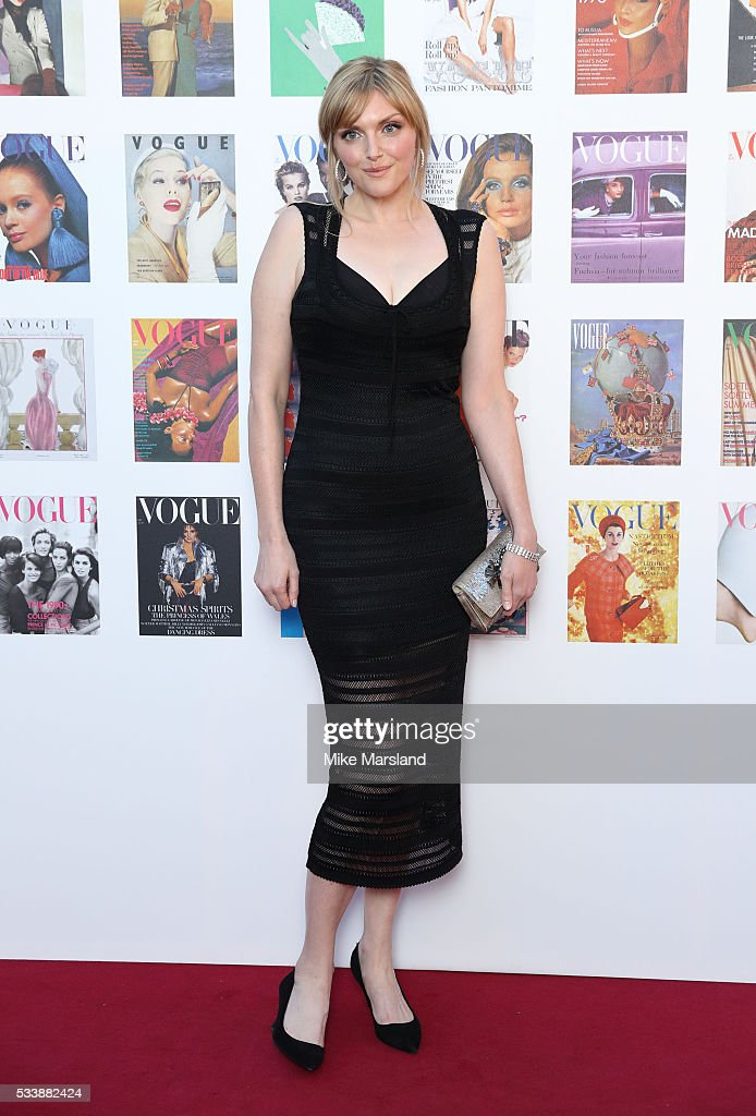 Sophie Dahl arrives for the Gala to celebrate the Vogue 100 Festival Kensington Gardens on May 23, 2016 in London, England.