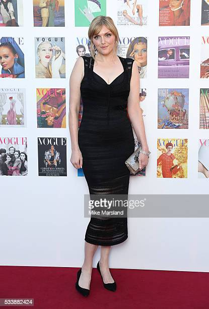 Sophie Dahl arrives for the Gala to celebrate the Vogue 100 Festival Kensington Gardens on May 23 2016 in London England