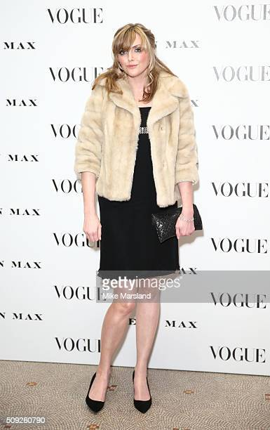 Sophie Dahl attends at Vogue 100 A Century Of Style atNational Portrait Gallery on February 9 2016 in London England