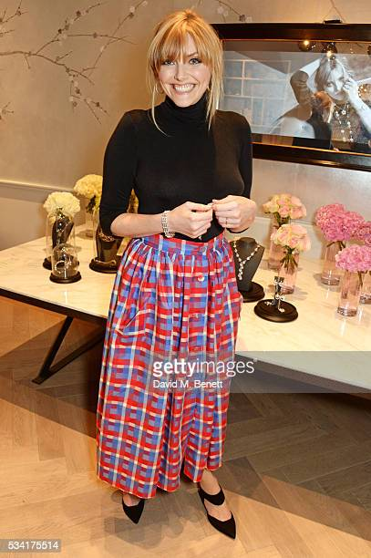 Sophie Dahl attends 'Boodles Cocktails With Friends' which she hosted to celebrate the new campaign launch for British jewellery brand Boodles at...