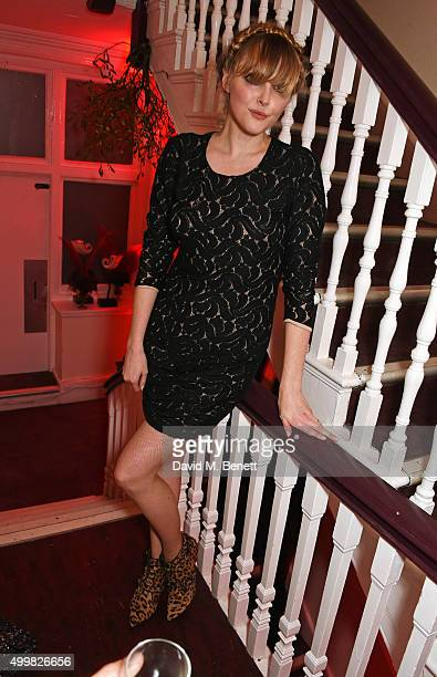 Sophie Dahl attends Charlotte Tilbury's naughty Christmas party celebrating the launch of Charlotte's new flagship beauty boutique in Covent Garden...