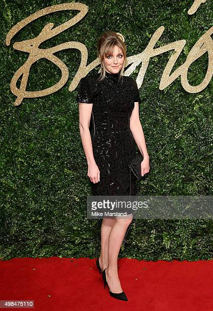 Sophie Dahl attends the British Fashion Awards 2015 at London Coliseum on November 23 2015 in London England