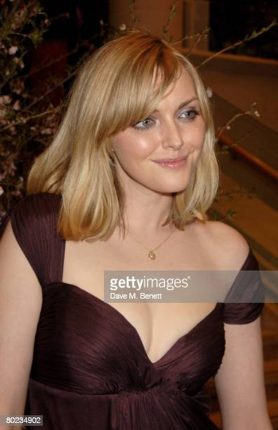 Sophie Dahl attends The Feast of Albion Quintessentially Gala Banquet in aid of the Soil Association at the Guildhall on March 13 2008 in London...