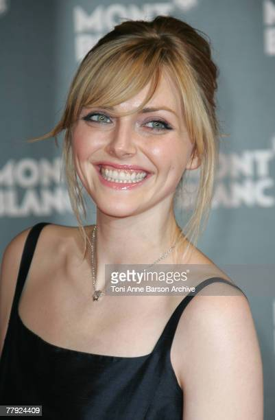 Sophie Dahl attends the Montblanc VIP Charity Gala held at the Monte Carlo Sporting Club on November 14 2007 in Monte Carlo Monaco The occasion is...