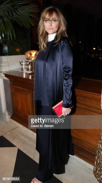 Sophie Dahl attends the Universal Music BRIT Awards AfterParty 2018 hosted by Soho House and Bacardi at The Ned on February 21 2018 in London England