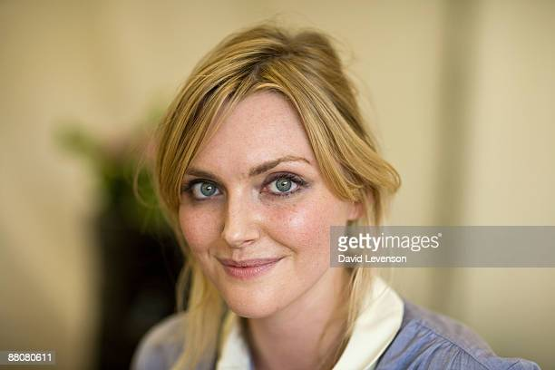 Sophie Dahl author and model poses for a portrait at the Hay festival on May 30 2009 in HayonWye Wales