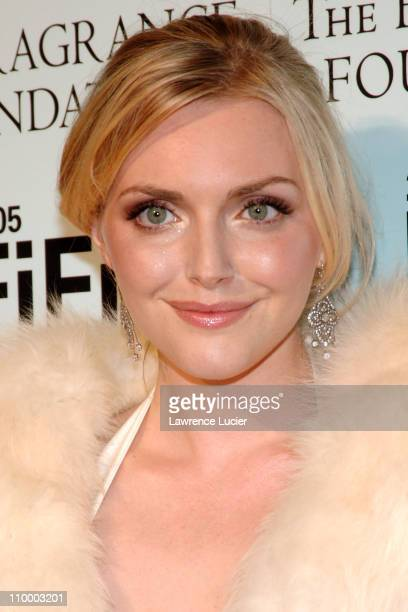 Sophie Dahl during 2005 FiFi Awards Arrivals at Hammerstein Ballroom in New York City New York United States
