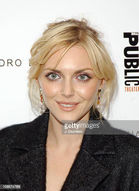 Sophie Dahl during Alessandro Dell'Acqua Celebrates the Opening of his First US Flagship Store With Public Theater BashFashion on Stage at The Public...