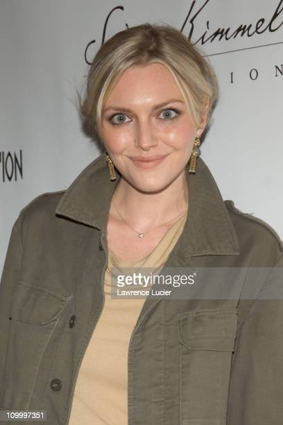 Sophie Dahl during An Enduring Vision A Benefit for The Elton John AIDS Foundation at Cipriani Wall Street in New York City New York United States